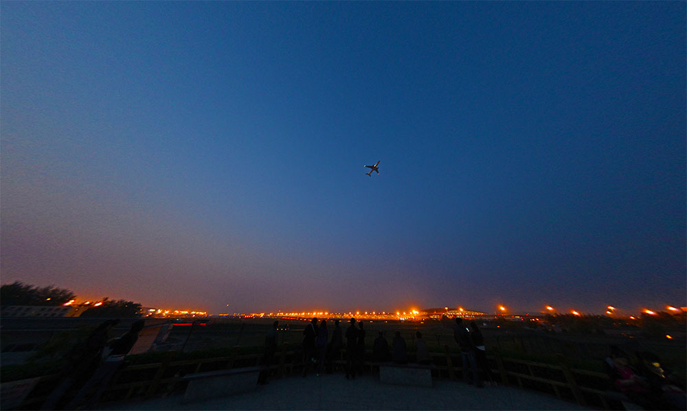 北京国际机场3号航站楼 八卦台