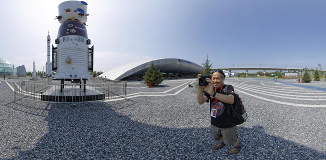 jook leung 在北京园博园航天馆