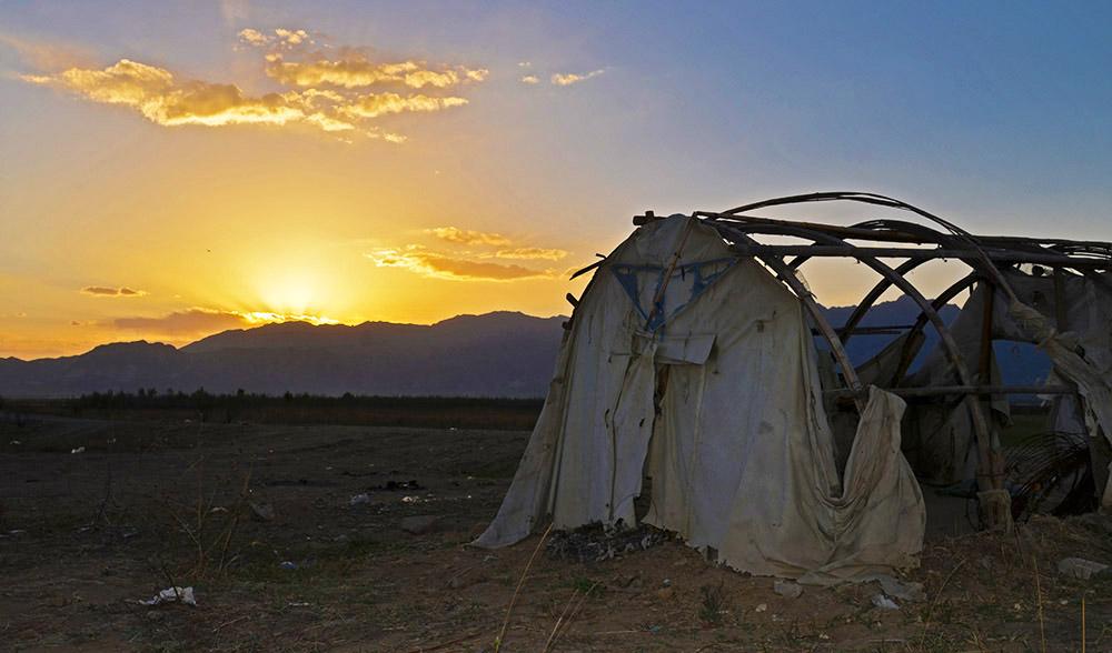 废弃的守鱼人的帐篷
