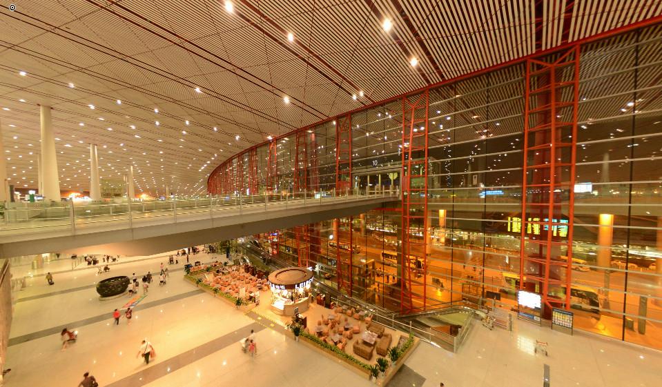 北京国际机场T3航站楼(多场景漫游版)