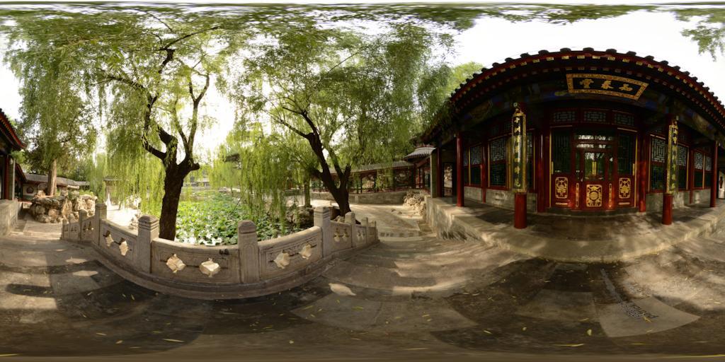 颐和园 谐趣园的知春堂 (多节点)