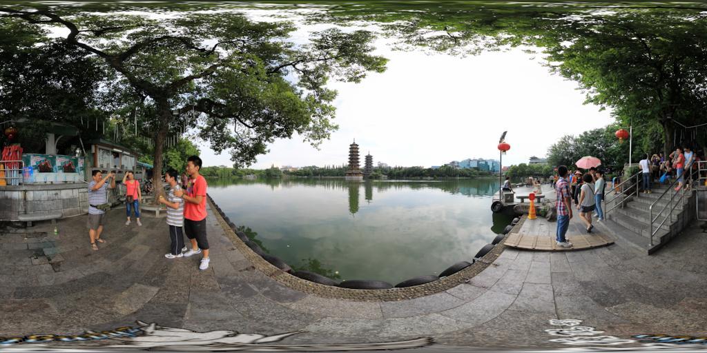 桂林日月双塔