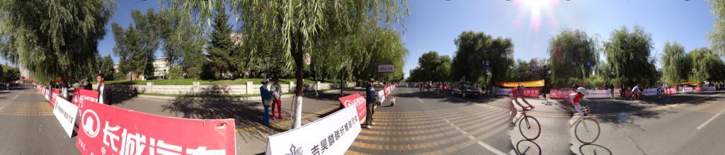吉林市环松花江公路自行车赛竞赛
