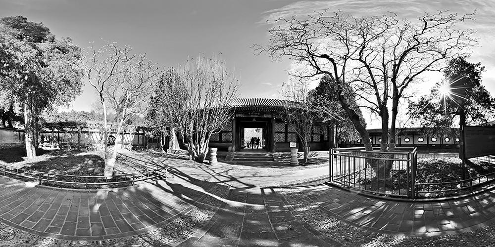 铅华洗尽亦风流——黑白颐和园