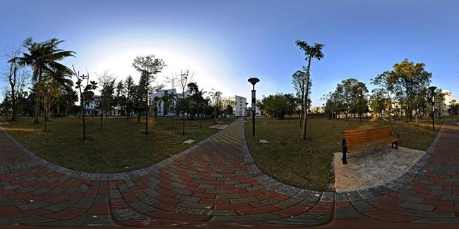 国际旅游岛之海南大学校园风景