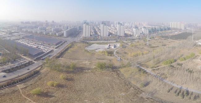 北京航拍宽幅全景试拍