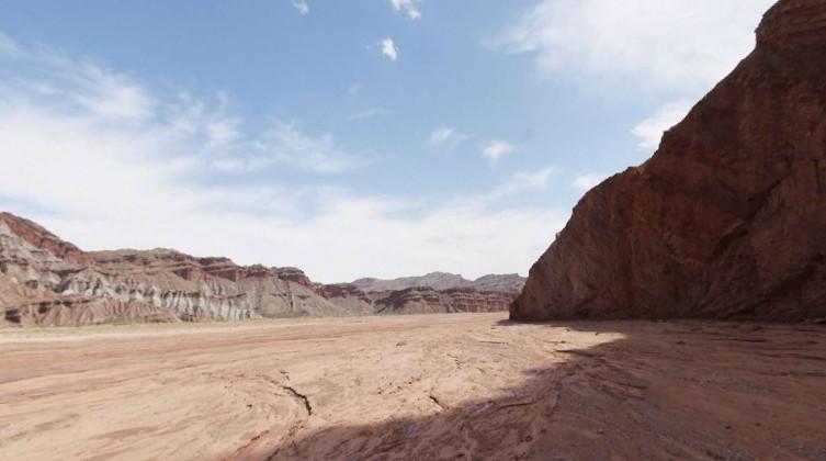 新疆阿克苏温宿大峡谷
