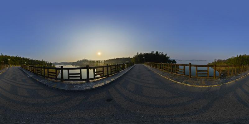 平天湖-桥