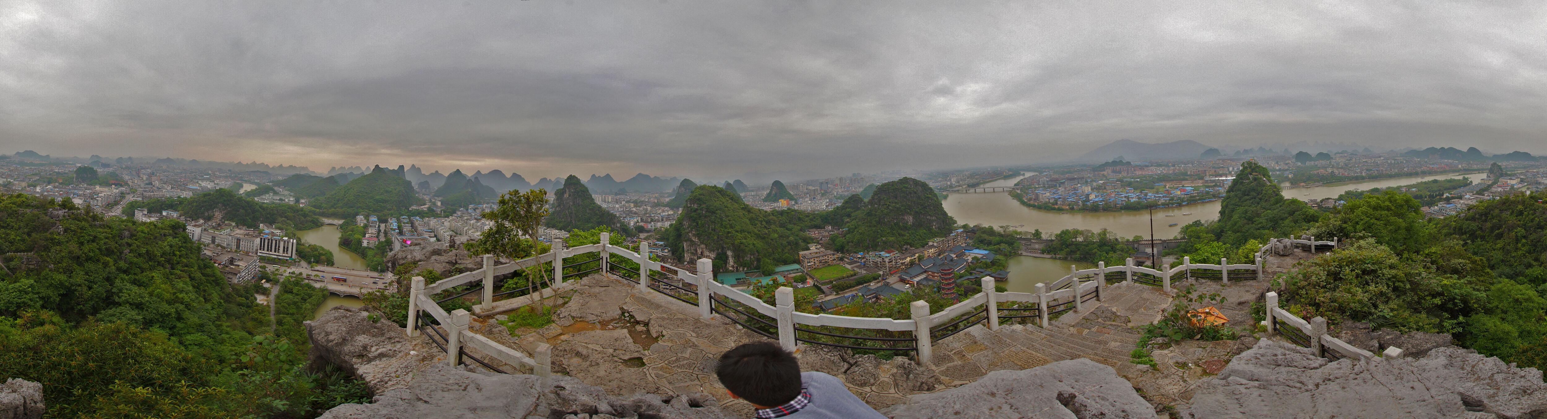 桂林疊彩山