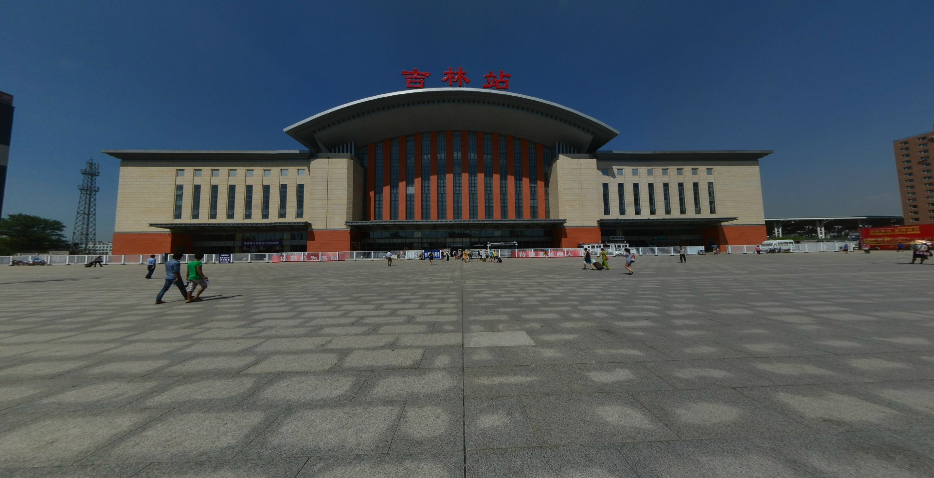 吉林站东广场