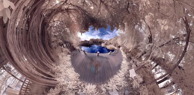 广州荔枝湾(360°红外全景摄影)
