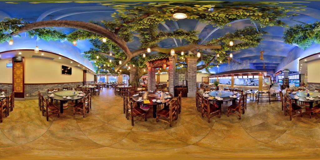粤式餐厅全景展示