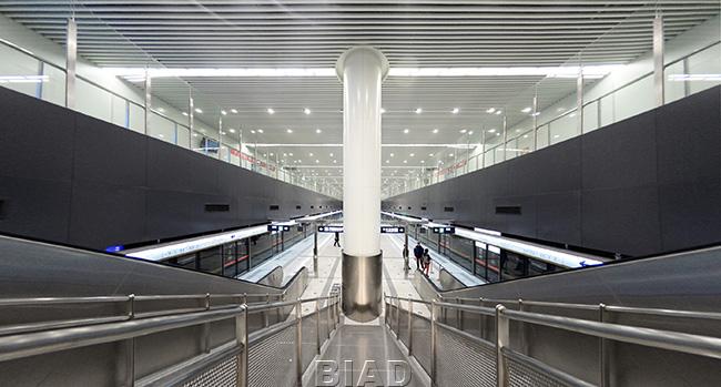 北京地铁6号线通州北关站