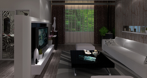 设计客厅跟餐厅